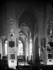 Eglise Saint-Marie-et-Sainte-Brigitte de Nogent-les-Vierges - Nef, vue de l'entrée