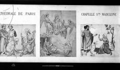 Cathédrale Notre-Dame - Peintures murales d'après les dessins de Viollet-le-Duc