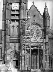 Cathédrale Saint-Maclou - Portail ouest
