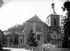Eglise Saint-Hilaire - Abside nord