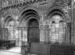 Eglise Notre-Dame-la-Grande - Portail ouest