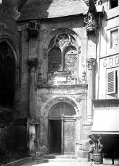 Cathédrale Saint-Maclou - Petit portail