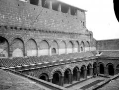 Cathédrale Notre-Dame et ses dépendances - Façade du cloître, partie