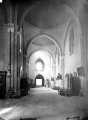 Eglise collégiale Saint-Emilion - Nef