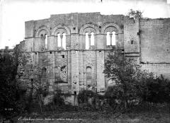 Ancien Palais des Archevêques ou Palais Cardinal - Façade à fenêtres romanes géminées