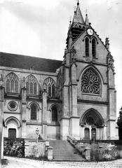 Eglise - Façade nord, partie