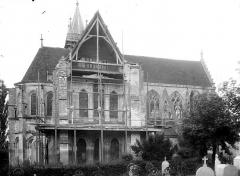 Eglise - Façade nord