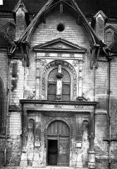 Eglise Saint-Nizier - Portail ouest