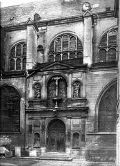 Eglise Saint-Nicolas - Façade ouest