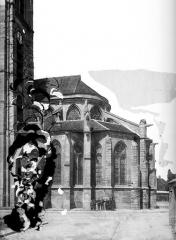 Eglise Saint-Germain - Abside, côté sud