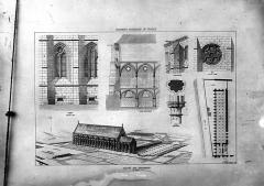 Ancien couvent des Bernardins - Dessin