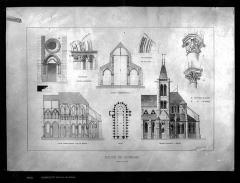 Eglise Saint-Pierre Saint-Paul - Dessin