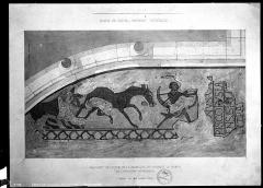 Eglise de l'Assomption, ancienne cathédrale - Dessin, mosaïques