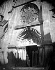 Eglise Saint-Denys - Portail ouest