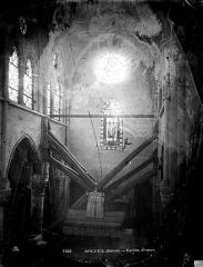 Eglise Saint-Denys - Choeur près de l'entrée