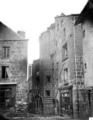 Maison dite de la reine Margot - Façade sur rue