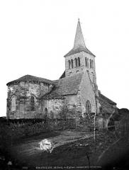 Eglise de Chateloy - Ensemble nord-est