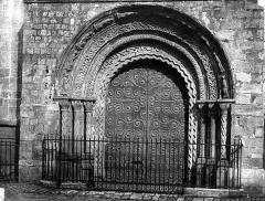 Eglise Saint-Basile - Portail ouest