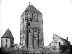 Ancien château fort dit La Toque - Donjon