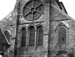 Eglise Saint-Martin - Abside, fenêtres