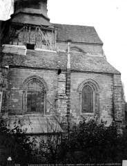 Eglise Saint-Martin - Façade sud, partie