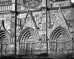 Cathédrale Saint-Etienne - Portail ouest