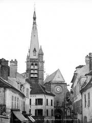 Eglise Saint-Aspais - Façade ouest
