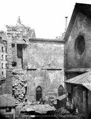 Eglise Saint-Julien-le-Pauvre - Façade ouest