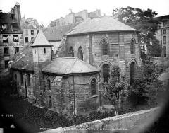 Eglise Saint-Julien-le-Pauvre - Côté sud-est