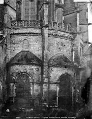 Ancienne cathédrale et son chapître - Abside partie