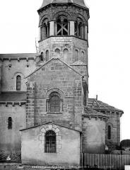 Eglise Saint-Limin (ou Saint-Martin) - Base du clocher