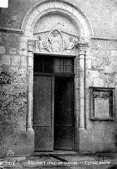 Eglise Saint-Limin (ou Saint-Martin) - Porte