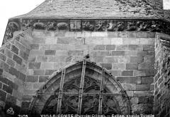 Eglise Saint-Pierre - Abside détails