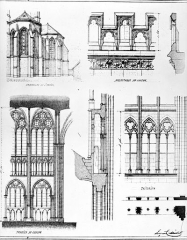Cathédrale Saint-Pierre Saint-Paul - Dessin