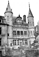 Hôtel de Vauluisant - Façade sur cour