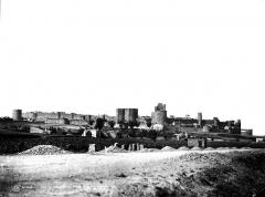 Cité de Carcassonne - Vue générale prise de l'est