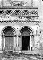 Eglise Saint-Sernin - Portails de la façade ouest