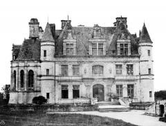 Domaine de Chenonceau - Façade sur cour d'honneur