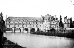 Domaine de Chenonceau - Façade sur le Cher côté est