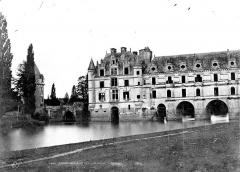 Domaine de Chenonceau - Façade sur le Cher côté ouest