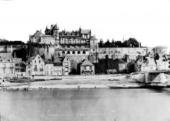 Château - Façade sur la Loire