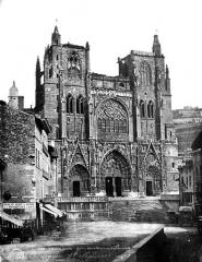 Eglise Saint-Maurice, anciennement cathédrale - Façade ouest