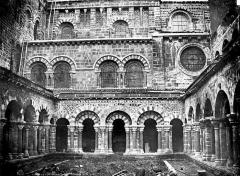 Cathédrale Notre-Dame et ses dépendances - Cloître : vue d'ensemble
