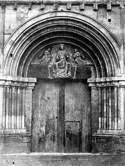 Eglise Notre-Dame de Cunault - Portail ouest