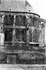 Eglise Saint-Rémi - Abside, côté sud