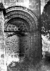 Eglise et chapelle - Petite porte murée, côté sud