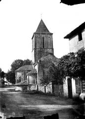 Eglise Saint-Pierre - Abside et clocher, côté nord
