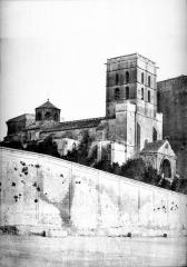Palais des Papes - Ensemble nord-ouest (partie gauche d'un panorama)