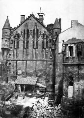 Chapelle Sainte-Garde - Pignon sur la rue des Cordeliers