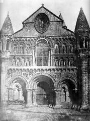 Eglise Notre-Dame-la-Grande - Façade ouest